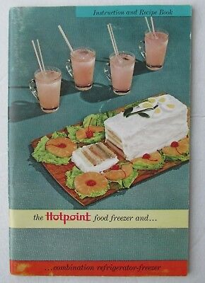 1955 Hotpoint Freezer Refrigerator Manual and Users Guide