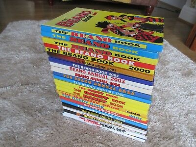 BEANO & DANDY Annuals x 24 - job lot - All in very good condition