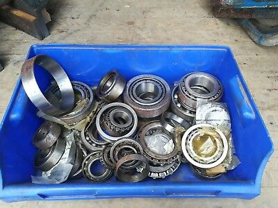 Assortment of Bearings Timken SKF tractor parts