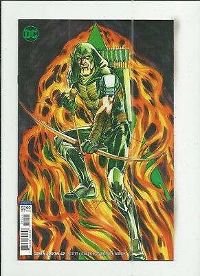 Green Arrow #42 (2018) Mike Grell Variant Cover (VF/NM) condition