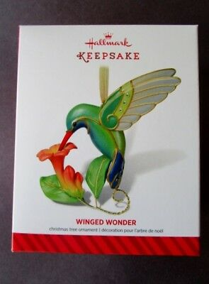Hallmark   ~2014 Winged Wonder LE ~  Hummingbird