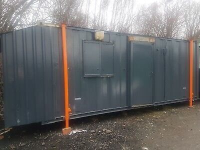Portable Site Office Cabin Building Welfare Unit 26x8