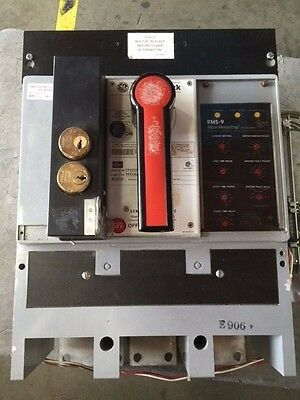 TP2020SSZ - GE POWER BREAK - MicroVersaTrip RMS-9 LSIG  CERTIFIED TESTED !!!
