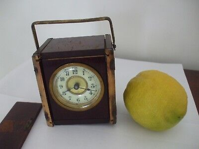 An Antique Travelling Carriage Clock (For Renovation)