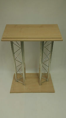TAF Double Truss Leg Lectern, Wooden Top and Bottom
