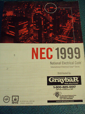 Book, National Electrical Code 1999, Softcover, NEC NFPA
