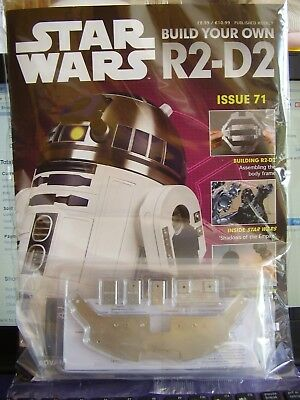 Deagostini Star Wars R2 D2 # 71  1:2 Scale Build Your Own Model Droid Robot