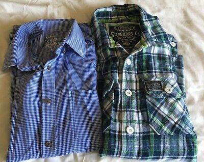 Small Bundle Of Men Shirts In Size Medium Includes Superdry