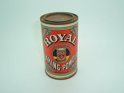 Vintage ROYAL CREAM OF TARTER BAKING POWDER TIN Standard Brands