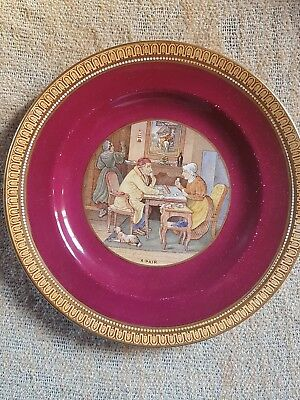 Antique Prattware Plate