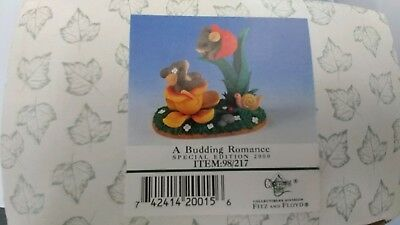 Dept 56 Charming Tails A BUDDING ROMANCE  Special Edition 2000