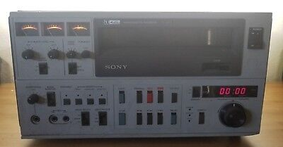 "Sony VO-5850 3/4"" Umatic Professional video cassette recorder player"