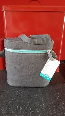 Mothercare Innosense Double Bottle Bag Insulated Grey