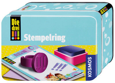 Kosmos The Three stempelring Girls DETECTIVE TOY FROM 8 years