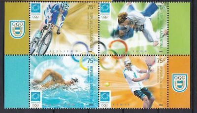 T57702 Argentinien Argentina 2920-2923 postfr./mnh Olympia Olympics