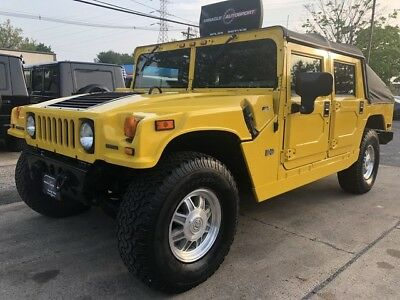 2003 Hummer H1  42k low mile free shipping warranty open top 4x4 exotic clean finance turbo