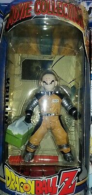 Krillin Figure From The Dragon Ball Z Movie Collection Brand New Rare