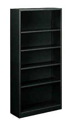 HON Metal Bookcase  - Bookcase with  Two Shelves,  34-1/2w x 12-5/8d x 72h,