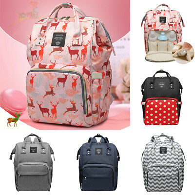 Mummy Backpack Diaper Bags Large Multifunctional Baby Nappy Travel Changing Bag