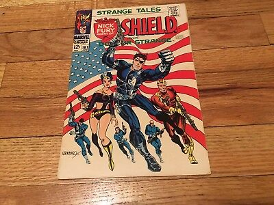 Strange Tales #167 (Apr 1968, Marvel)Beautiful copy! Amazing price. Iconic cover
