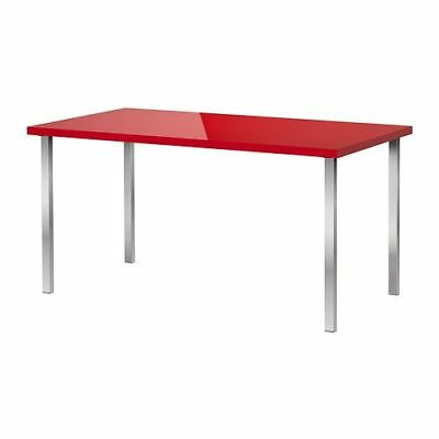 IKEA TORSBY TABLE Dining Table SEATS 6 MODERN Rare Red XL Version