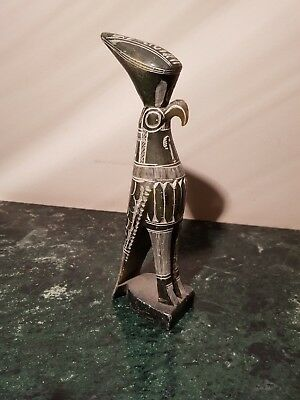 Rare Antique Ancient Egyptian Statue God Horus Falcon Unify Egypt1650-1560BC