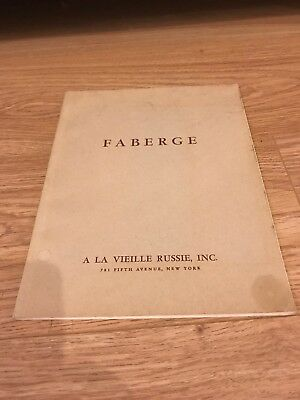 A La Vieille Russie 1961 Catalogue Rare Exhibition Imperial Russian Faberge 2/2