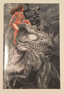 CAVEWOMAN: STARSHIP BLISH #2 Rob Durham Special Edition Variant - NM- 350 copies