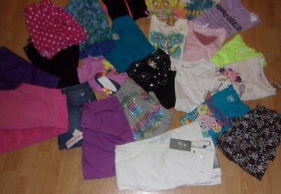 huge lot girls size 12 size 14 new euc 23 items jeans tops hoodies a