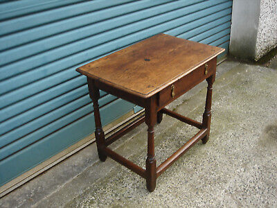 Queen Anne Oak side/writing/library table Circa 1710