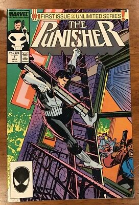 The Punisher # 1 Monthly Series Marvel 1987