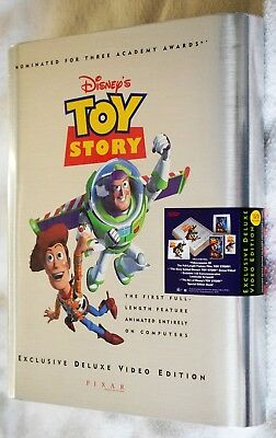 Disney's Toy Story Exclusive Deluxe Video Edition VHS Box Set - Factory Sealed