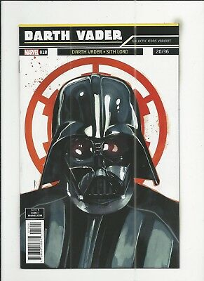 Star Wars: Darth Vader #18 (2018) Rod Reis Galactic Icon Variant Cover (VF+)