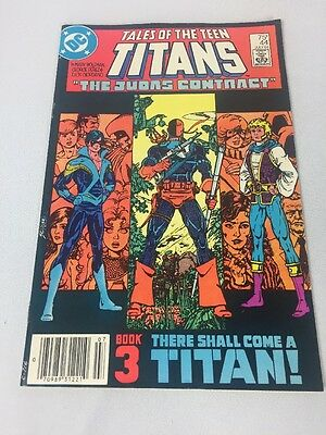 Tales Of The Teen Titans #44 Dc Comics First Nightwing 7/84 Free Shipping