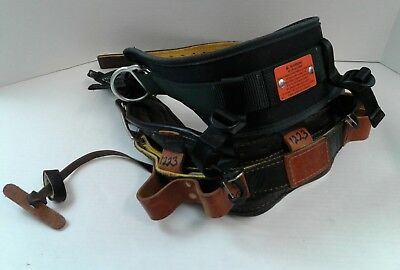Jelco Lineman Climbing Belt With 4-D Rings.  Model 80866