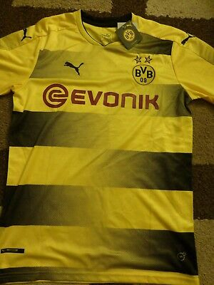 Borussia Dortmund Home Shirt 2017/18 S/S Large No 11 Reus