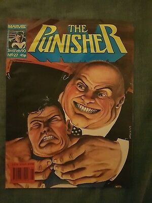 The punisher comic book (1990)