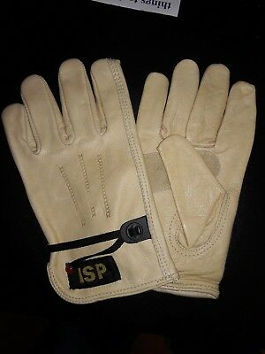 **JULY MONTH END BLOW OUT SALE** Cowhide Drivers Gloves w/Ball String 1 Dozen.