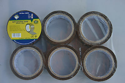 Casters Adhesive Tape Packing Tape Volume Packing Tape 66M Long x 50mm Brown