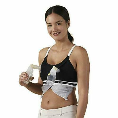 Bravado! Clip & Pump Hands-Free Nursing Bra Accessory 9301 Small Med large NEW