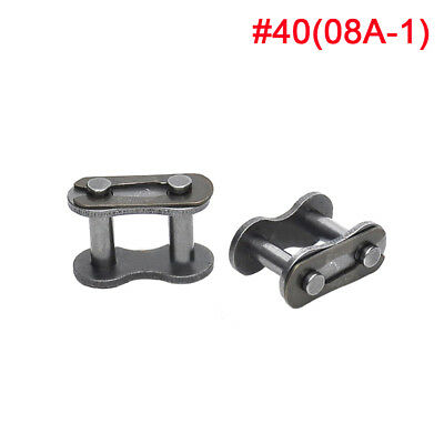 """#40 Roller Chain Connecting Link Full buckle For 08A 1/2"""" Roller Chain x 10Pcs"""