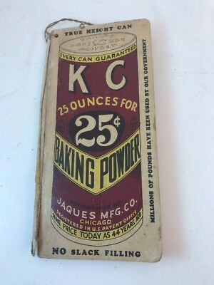 Vintage KC Baking Powder Memo Notebook Powell Stanton KY 1936 Grocers Want Book