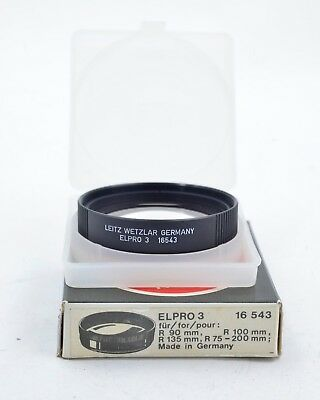 Leica Elpro 3 Close-Up Lens 16543 for R-Series Lenses  (403)