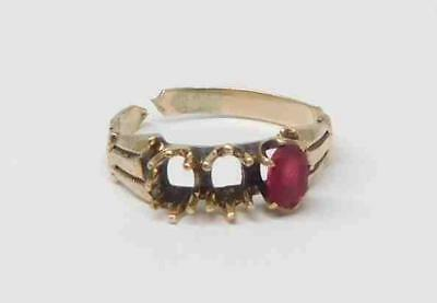 Antique Victorian 10K Gold Baby Ring (0.8g) #325