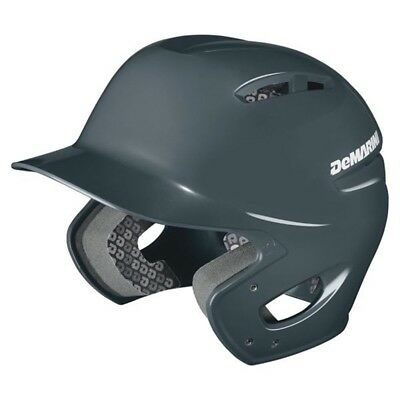 DeMarini Paradox Pro Batting Helmet - Adult Medium - Charcoal - NEW