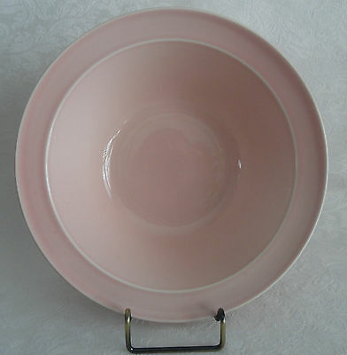 "LuRay  TS&T Large Vegetable Serving Bowl  8 7/8"" (9"")  Pink"