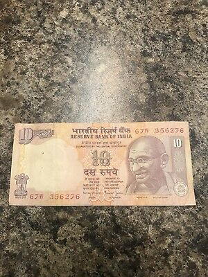 Reserve Bank of India  10 Rupees 2014