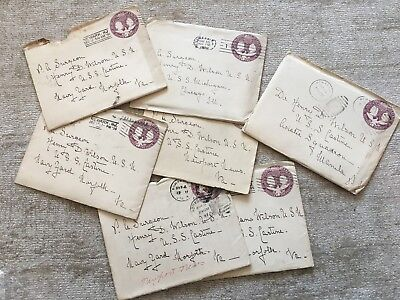 6 Handwritten Letters (unread)  addressed to Military Surgeon Henry D. Wilson.