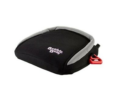 BubbleBum Backless Inflatable Travel Booster Car Seat, Black
