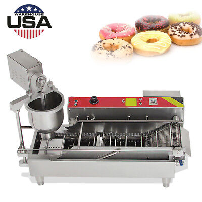 Automatic Donut Maker Mini Donut Maker Making Machine Stainless Steel 1100pcs/h